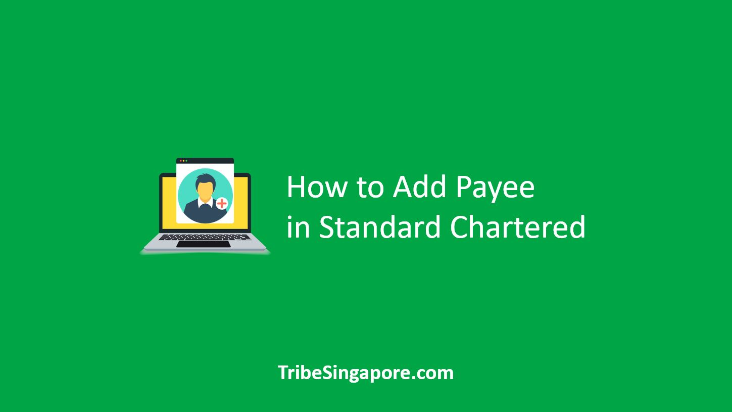 How to Add Payee in Standard Chartered