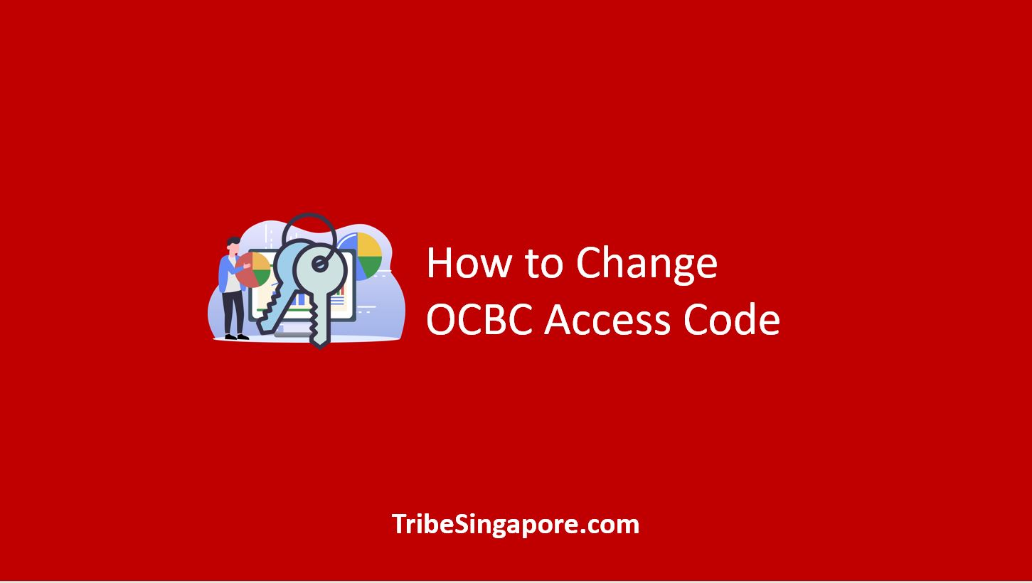 How to Change OCBC Access Code