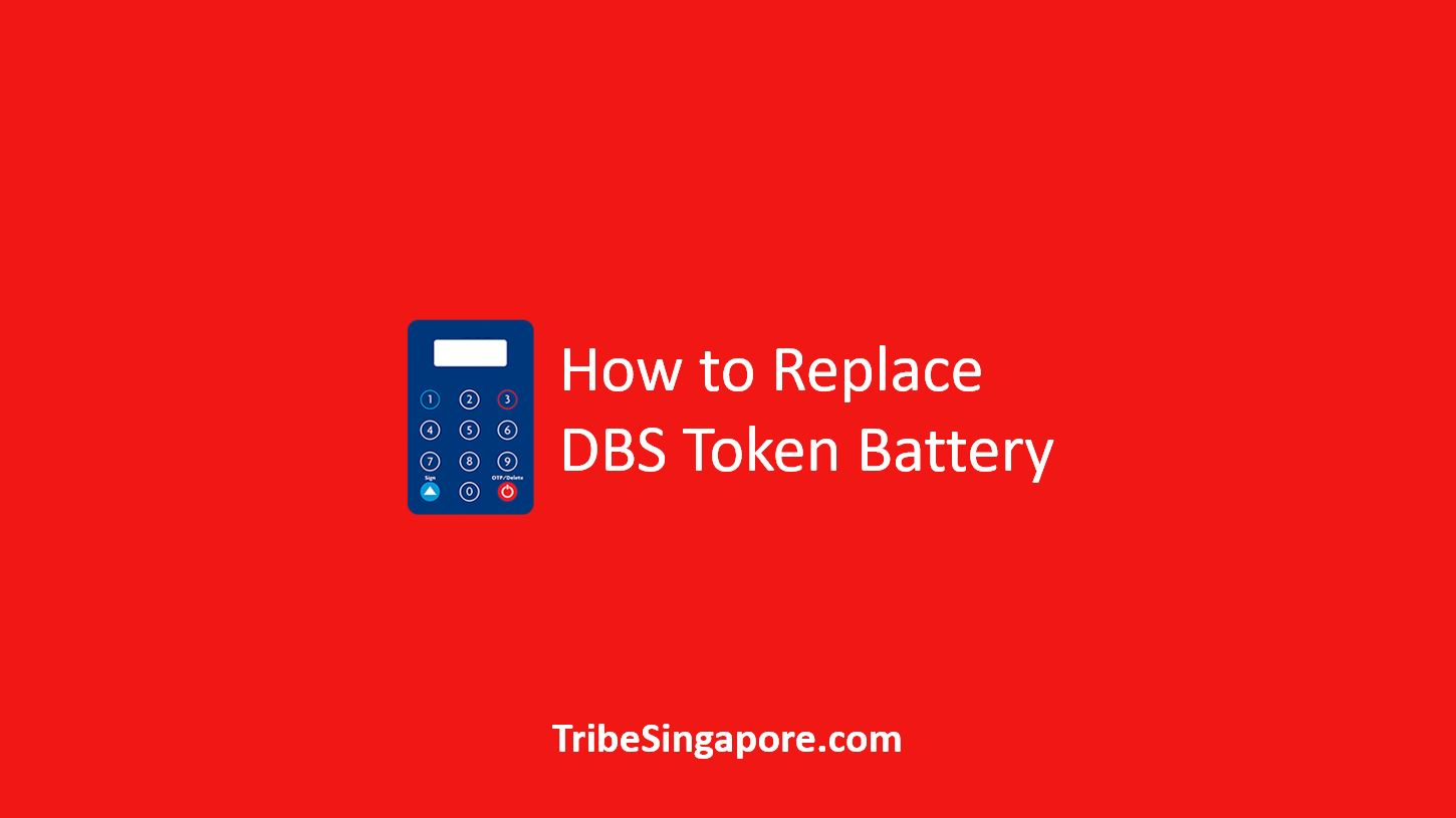 How to Replace DBS Token Battery