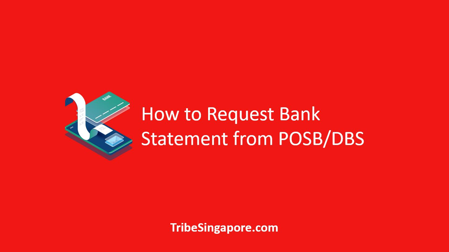 How to Request Bank Statement from POSB DBS