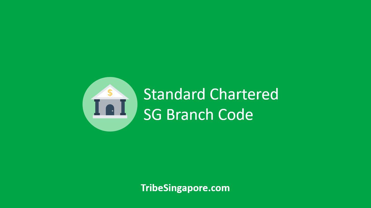 Standard Chartered SG Branch Code