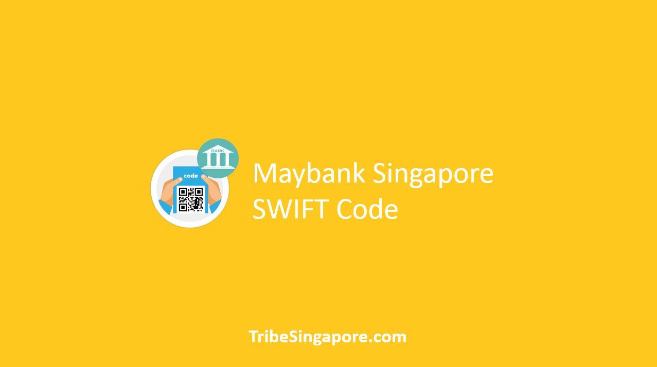 Maybank Singapore SWIFT Code