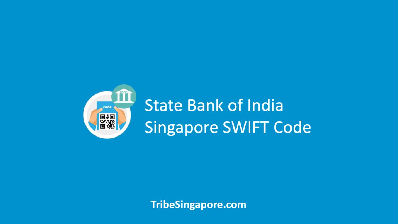 State Bank of India Singapore SWIFT Code