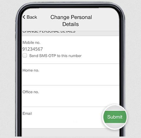 Update OCBC Phone Number Online