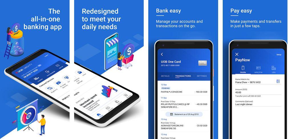 Check UOB Account Balance Using UOB Mighty App
