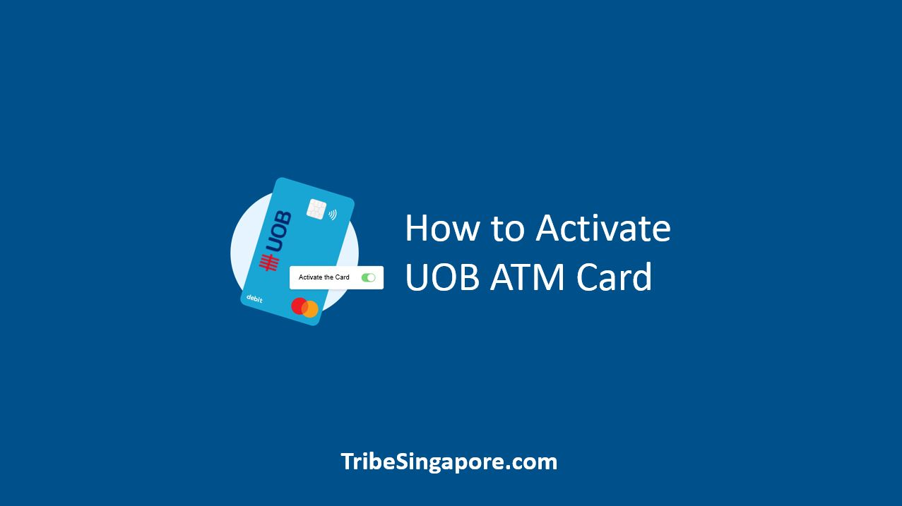 How to Activate UOB ATM Card