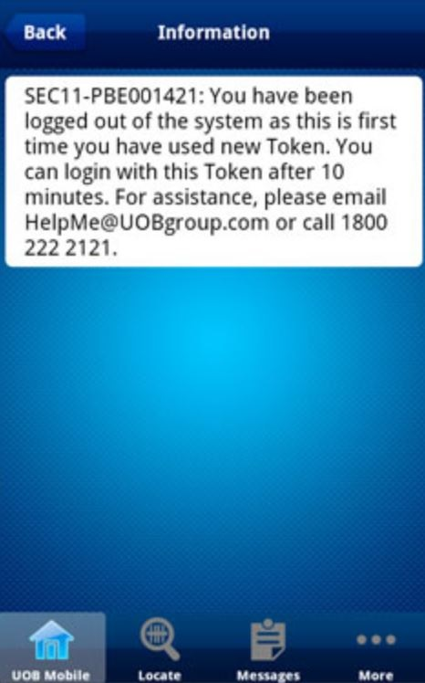 How to Activate UOB Token Online Banking Payment