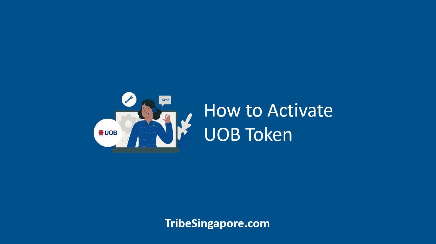 How to Activate UOB Token
