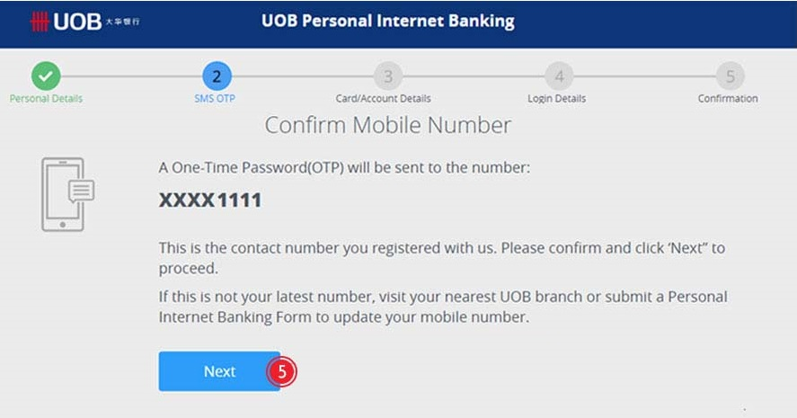 How to Apply UOB Internet Banking Online Payment