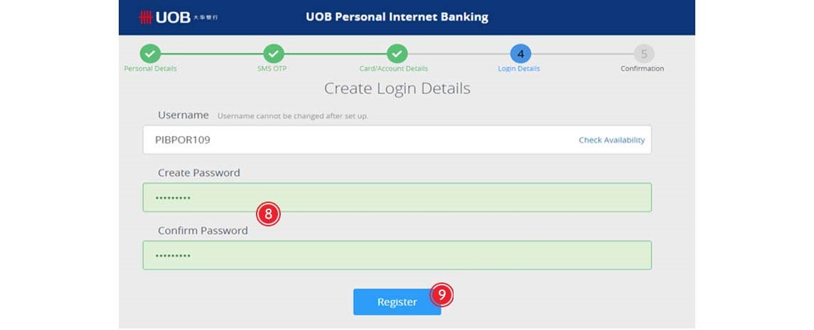 How to Apply UOB Internet Banking Pay Online