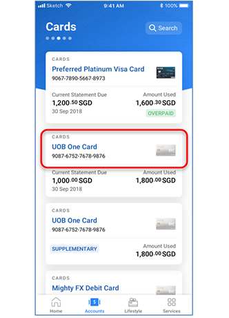 How to Change UOB Card PIN Mobile Banking Payment Online