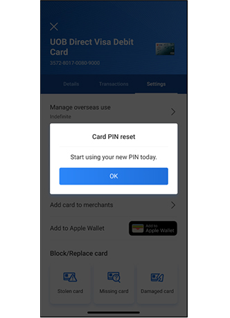 How to Change UOB Card PIN Mobile Banking