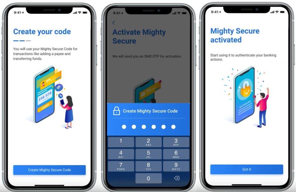 How to Change UOB Device Token via Mighty App Online Banking Payee