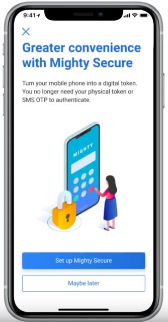 How to Change UOB Device Token via Mighty App Online