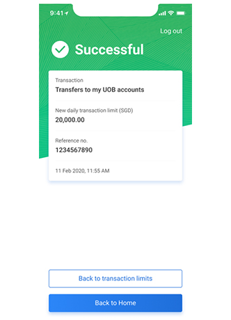 How to Change UOB Transfer Online Limit Payment