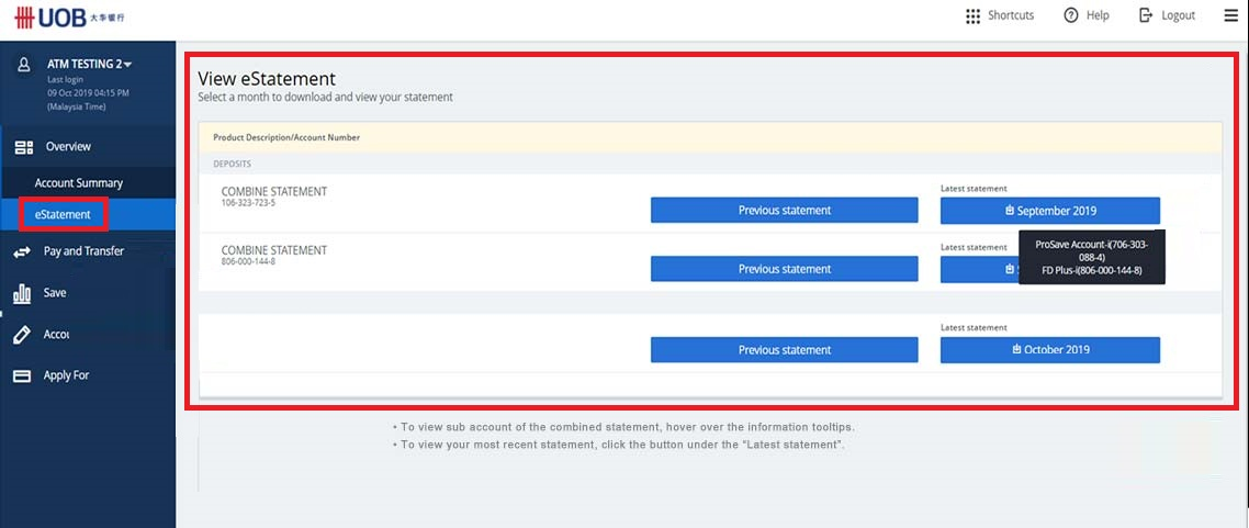 How to Check UOB Balance Online Payment