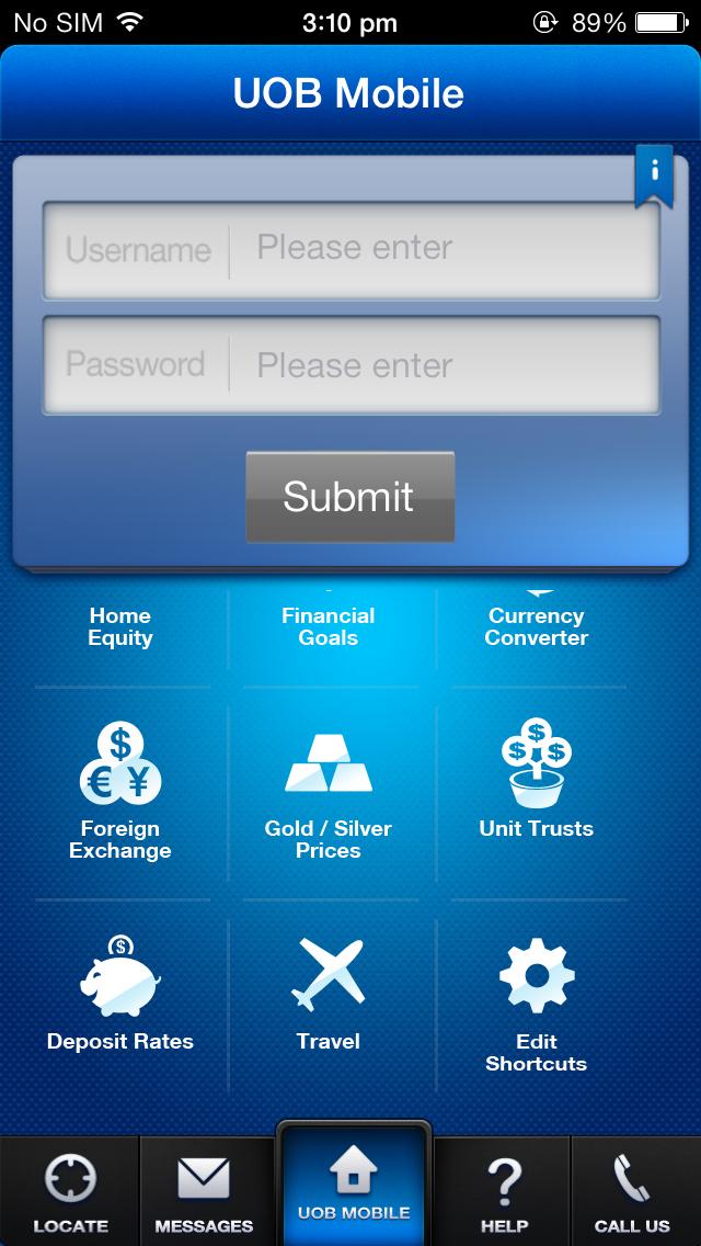 How to Login UOB Internet Banking via UOB Mobile Banking