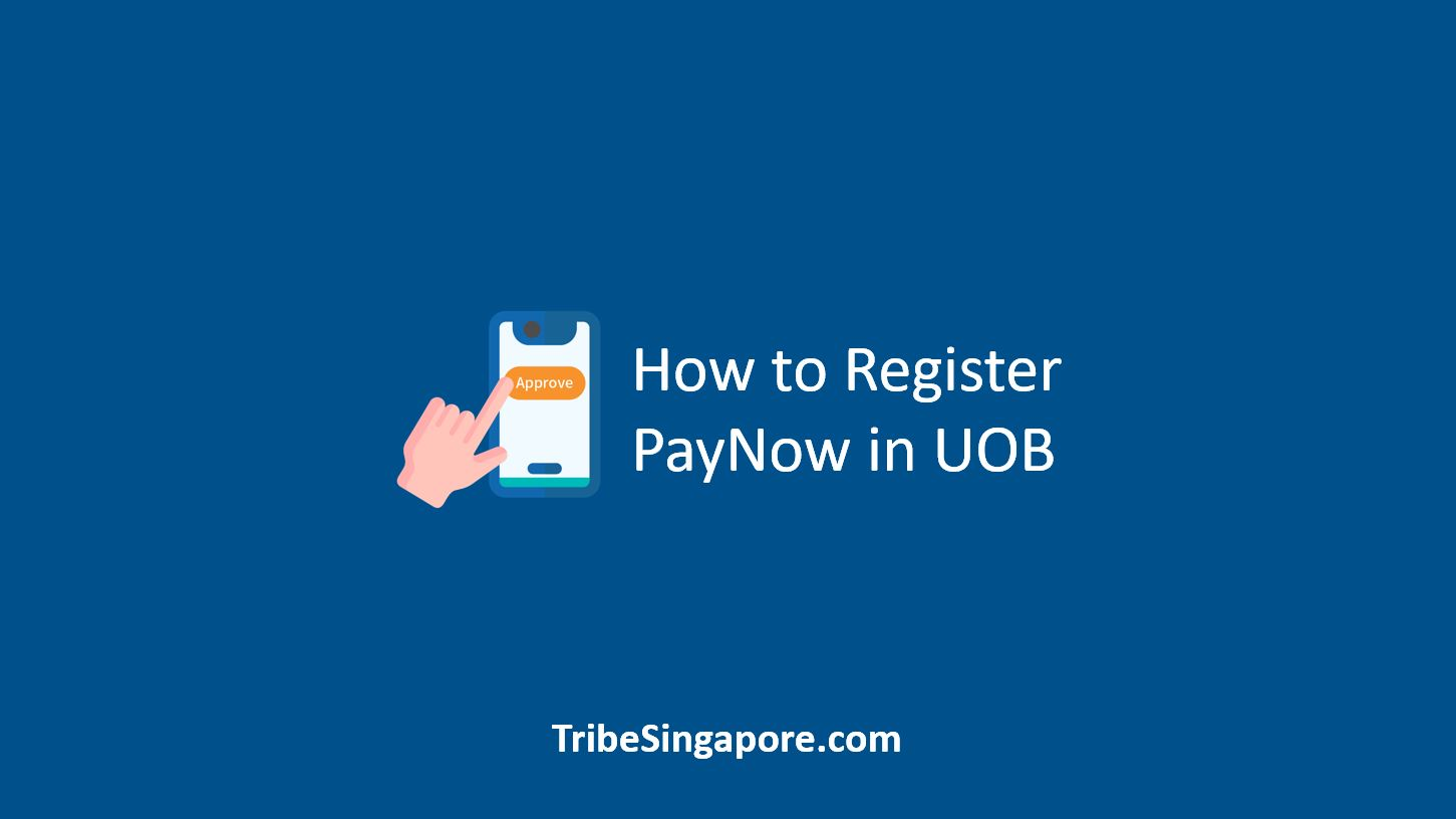 How to Register PayNow in UOB