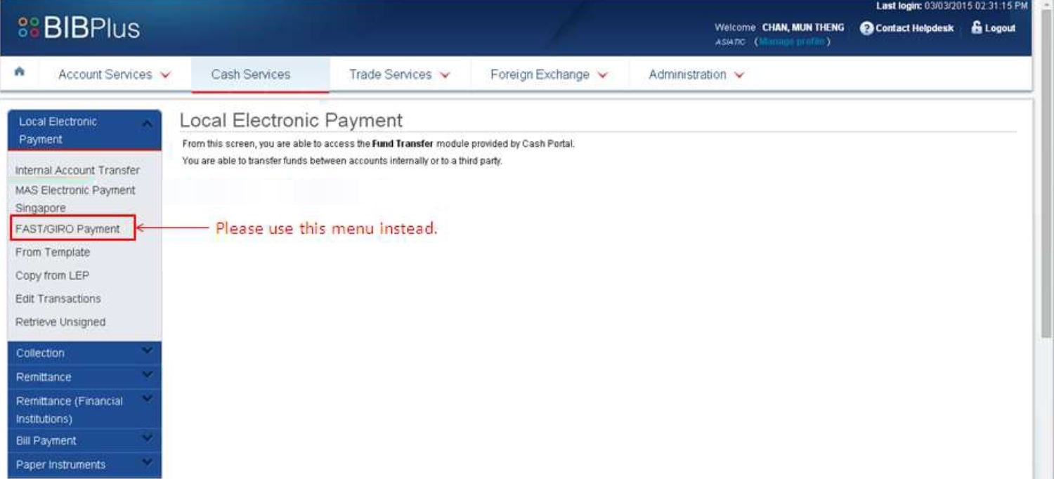 How to Set Up GIRO Payment with UOB Online Paye