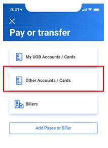 How to Transfer Money from UOB to Other Bank Accounts Online Payment