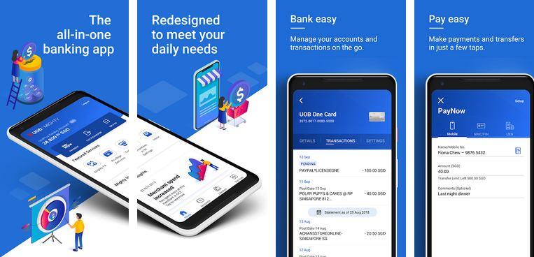 Reset Password UOB Internet Banking Mighty App