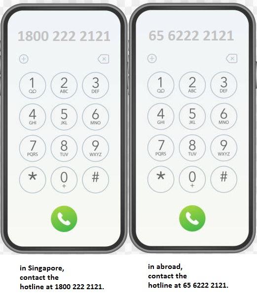 Transfer Money from UOB to Overseas Bank via Phone